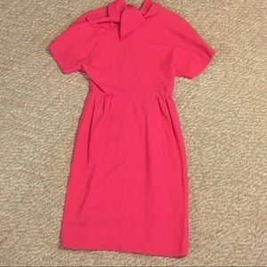 Vintage hot pink dress
